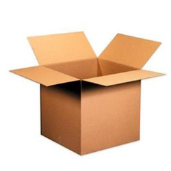 Brown 5 Ply Rectangle Corrugated Box