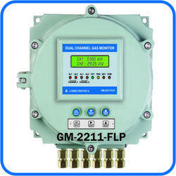 Dual Channel Fixed Gas Monitor Flameproof
