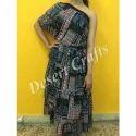 Printed Ladies Designer Dress