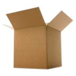 Brown Rectangle Corrugated Packaging Box