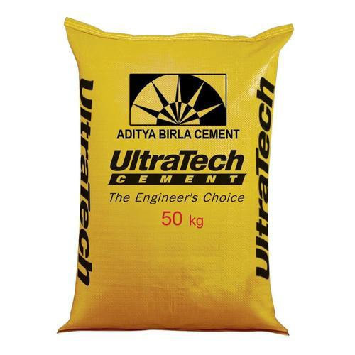 Ordinary Portland Ultratech Cement, Packaging Type: PP Sack Bag, Packing Size: 50 Kg