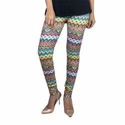 Churidar Casual Wear Printed Cotton Legging, Size: XL