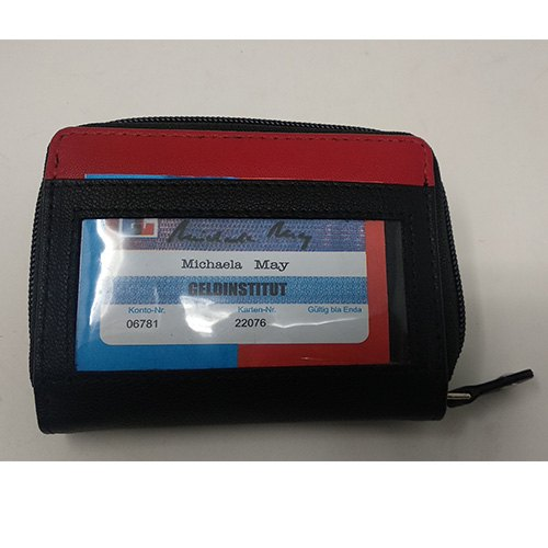 Leather Multiple Card Holder