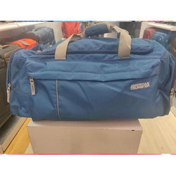 d92f9ee73280 Magenta and Blue American Tourister Casual Duffel Bag