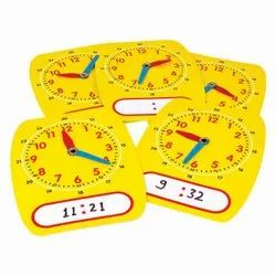 Student Clock Write and Wipe - Student Set