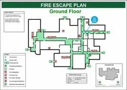Fire Escape Plan Gurgaon