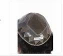 10x7 Natural Human Hair Black Patches