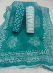 katha work Suit Ladies Dress Material