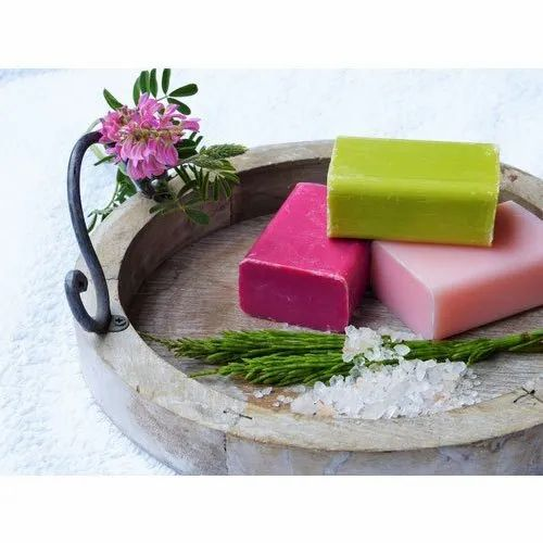 Olive Oil Rectangular Custom Design Handmade Soaps