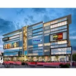 Concrete Frame Structures Shopping Mall Construction Services, Fire-Fighting System