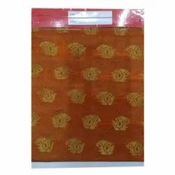 Riddhi Siddhi Printed silk blouse fabric, Packaging Type: Packet