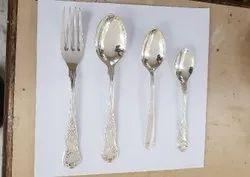 German Silver Cutlery Set