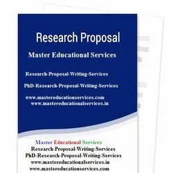 PhD Thesis Research Proposal Writing Services