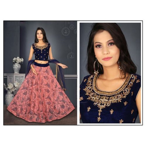Satin Silk Ladies Wedding Wear Crop Top With Skirt Rs 1095 Piece Id 21098338255,Traditional Wedding Dress In Philippines