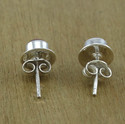 Golden Sun Sitara Gemstone 925 Silver Jewelry Stud Earring
