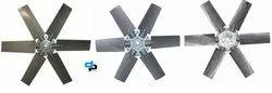 6 Blades Aluminum Impeller Dia 710 MM