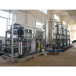 Industrial Mineral Water Bottle Filling Plant
