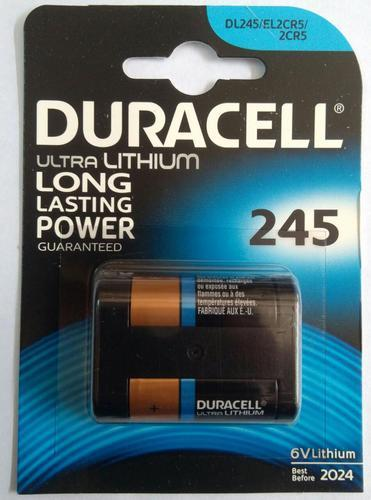 Duracell Lithium Battery 2CR5, Voltage: 6 V