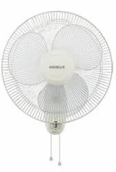 Swing White Wall Mount Fan