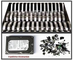 Hard Drive Destruction Equipment