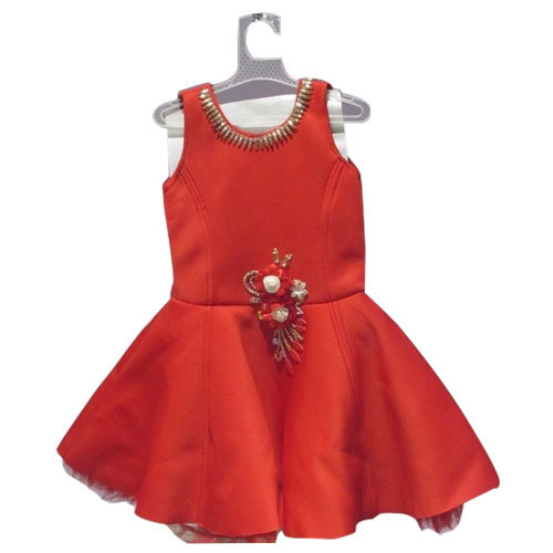 4e06d57939a1 Red Cotton Girl Frock, Size: 16,18,20,22, Rs 499 /piece, Yash ...