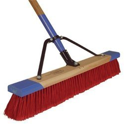 Tall Fiber Floor Brooms