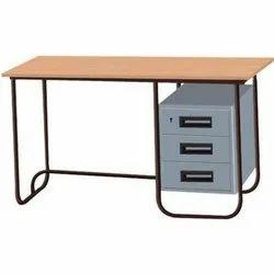 Rectangular Stainless Steel Designer Office Table