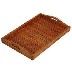Polished Wooden Tray