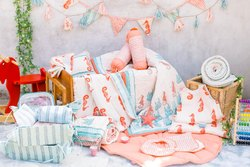 Hand Block Printed Kids Bedding