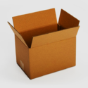 Brown Rectangular Big Industrial Corrugated Boxes