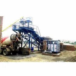 KP-30 compact Concrete Batching Plant