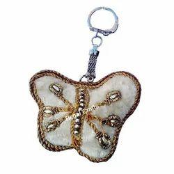 Zari Embroidery Key Chain