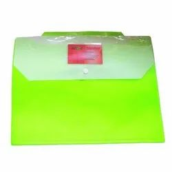 Mark PP Green Button File Folder, For Home,school and office