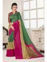 Paro Silk Designer Saree With Blouse