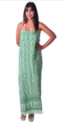 38c2bb24c84 Green Georgette Suit at Rs 2250  piece