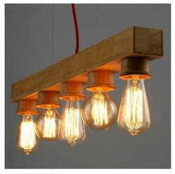 LED Wooden Hanging Light