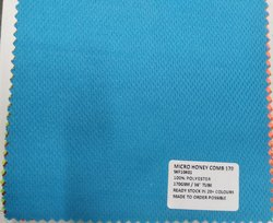 100% Polyester Honeycomb Knit Fabrics 170 GSM