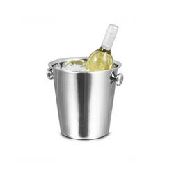 Shinny Polished Wine Bucket (Knob) for Use In Bar
