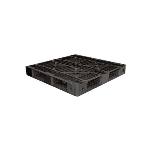 Rectangular Plastic Pallets OP-036 B, Size: 1100 x 1100 x 120 mm
