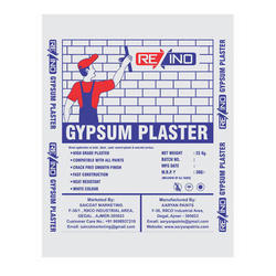 Re INO White 25 Kg Gypsum Plaster