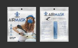 iShield Cotton I Shield Anti Pollution N99 Air Mask (Washable), for Personal, Model: Airmask