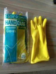 Fockline Yellow Gloves, For Shipping Handling, Size: Medium