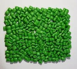 Green HDPE Plastic Granules, Packaging Size: 25 Kg