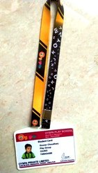 Rectangular Identity Card, Dimensions: 55mm x 86mm
