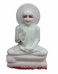 Gautam Swami Marble Moorti