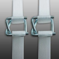 Carbon Steel And Polyester Cord Strap Buckle