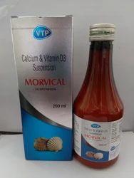 Calcium Carbonate 250mg Vitamin D3 125 Iu/5ml Syrup