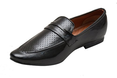 376f071ff50 Hush Berry Black tassel casual synthetic leather shoes slip on style for  men