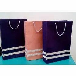 Designer Paper Bag for Shopping, Capacity: 2 to 5 Kg