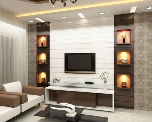 interior design for living room wall